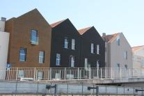 Antigas Salineiras transformadas em habitações mas mantendo a traça original