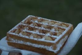 Waffle de Creme de Pastel de Nata