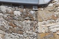 Casa das Pedras Parideiras - pormenor da parede exterior